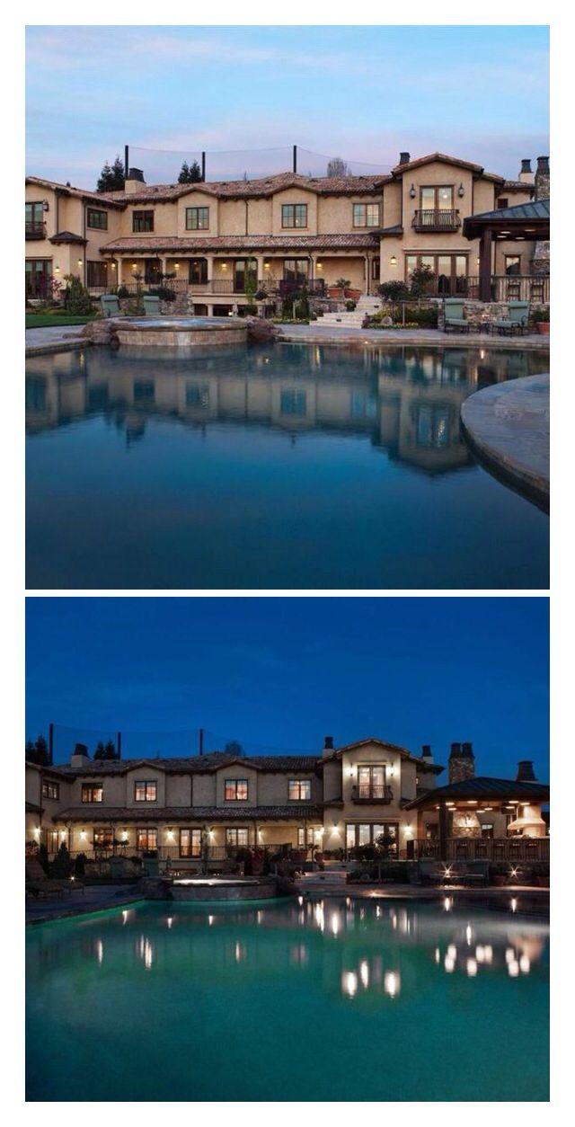 Luxury Mansion DAY NIGHT Amazing Mansions Pools Interior Dec
