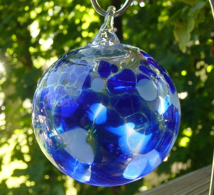 how to make stained glass balls