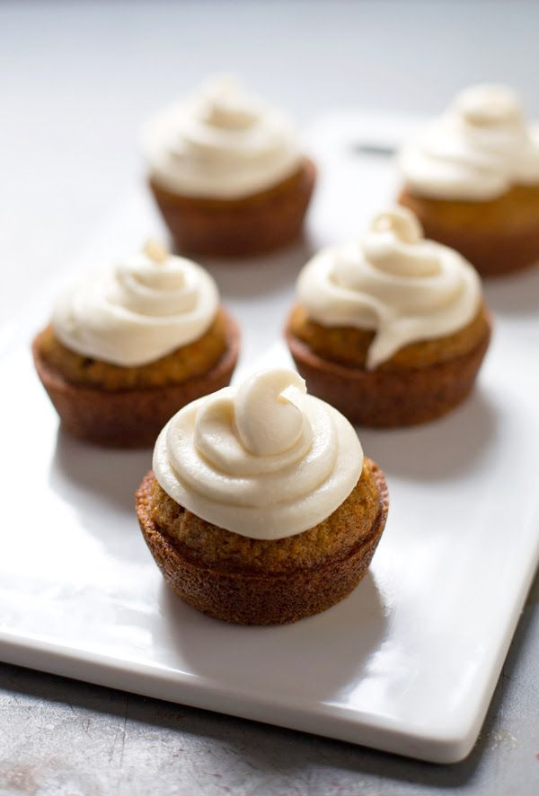 The Best Carrot Cake Cupcakes with Cream Cheese Frosting - pinchofyum ...