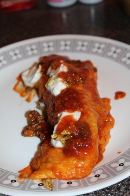 Easy Beef Enchiladas | More Recipes | Pinterest