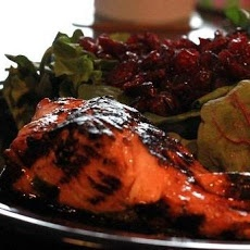 Honey-Ginger Grilled Salmon   Healthy Cuisine   Pinterest