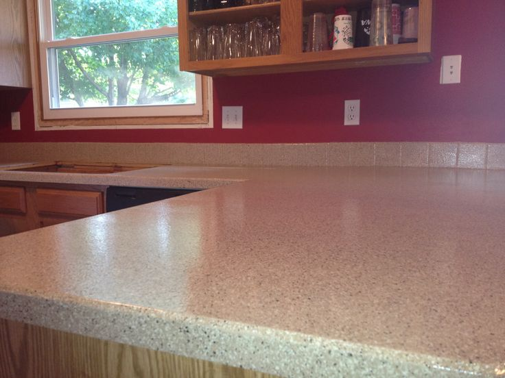 DIY Kitchen Countertop - might be useful