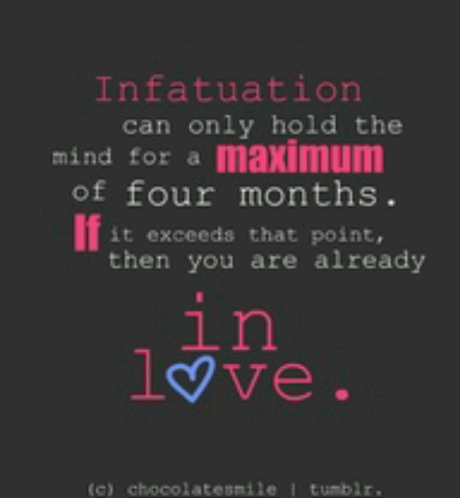 Quotes About Love Versus Infatuation Quote