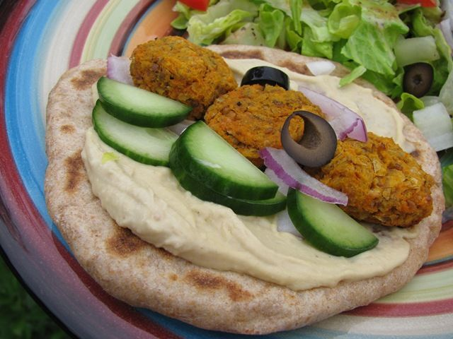 Baked sweet potato falafel - much healthier and more flavorful than ...