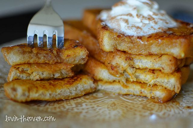 Lovin' From The Oven:Pumpkin Pie French Toast - Lovin' From The Oven