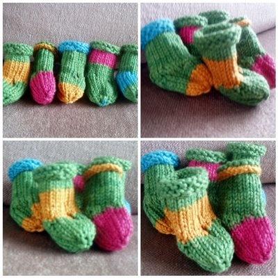 Make Christmas stockings: free sewing pattern :: Christmas