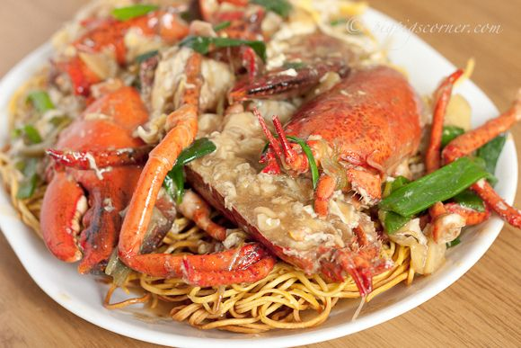 Lobster Yee Mein (Lobster Noodles) | Recipe: Chinese | Pinterest