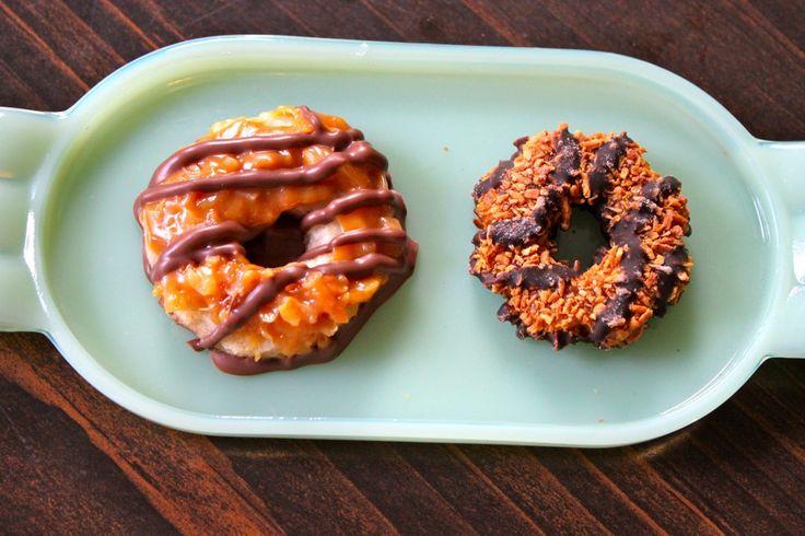 Homemade Samoas | Food and Drinks | Pinterest