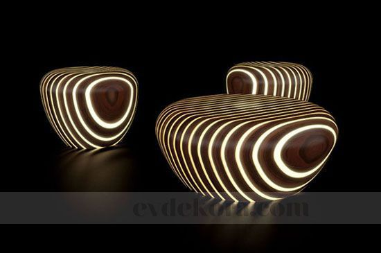 Işık Saçan Möbleler