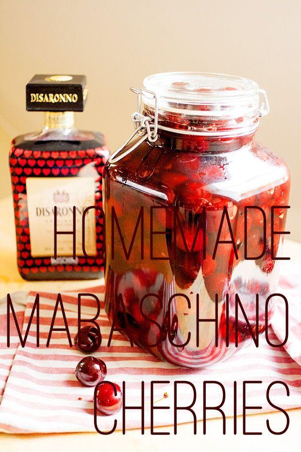 Tequila Smash And Homemade Maraschino Cherries Recipe — Dishmaps