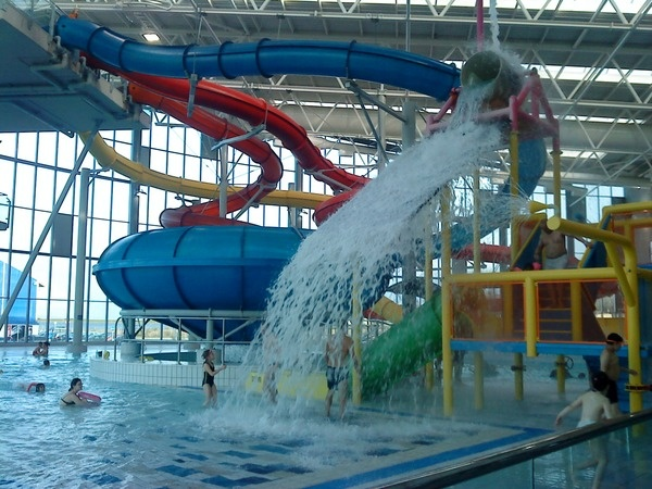Swimming Pools With Slides In Cardiff Style