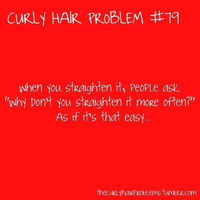 Curly Hair Problem #79
