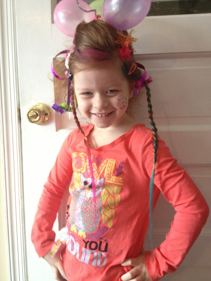 crazy hair day school crazy hair day for my daughter at