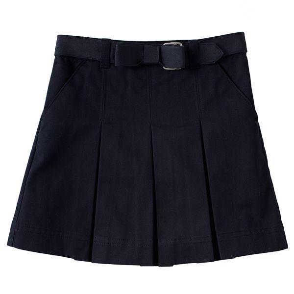 ... Girls Skinny Capris Uniform Pants | Kohl's Back To School Uniforms