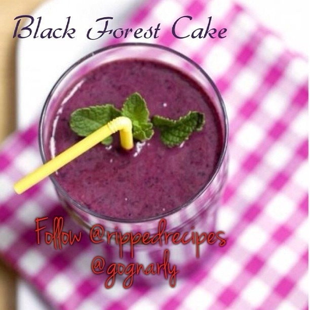 ... black forest cake black forest yule stump cake black forest shake