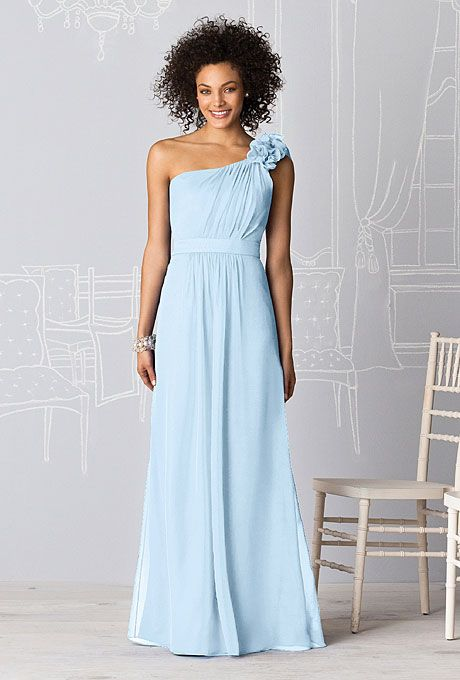 blog pale blue bridesmaid dresses gallery image