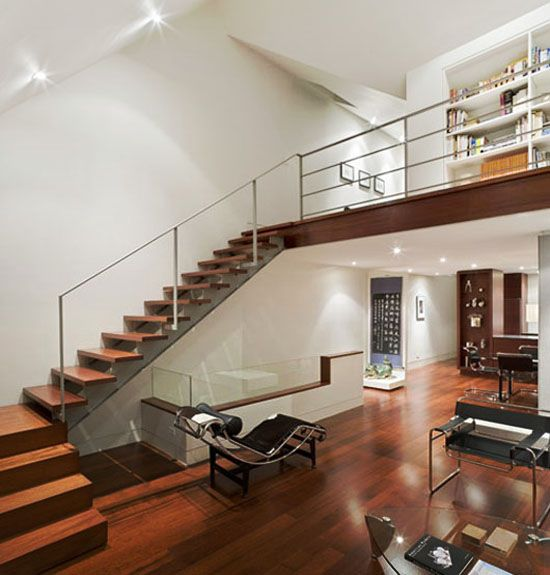 Modern loft design dream home pinterest - Loft design ideas ...