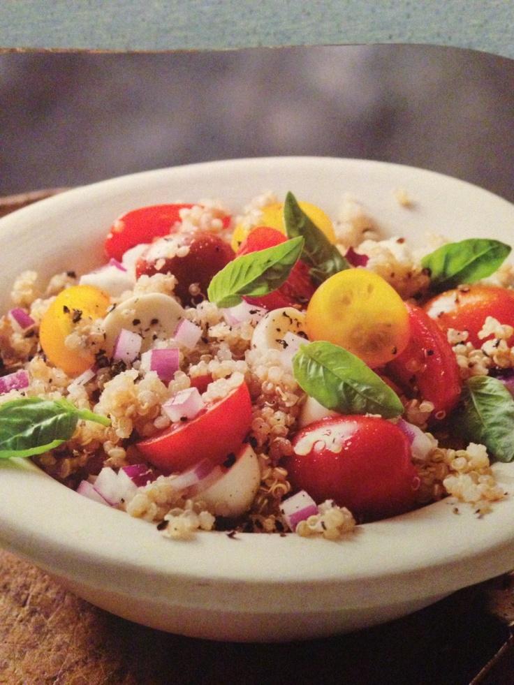cantaloupe salad with basil fresh mozzarella onions mozzarella onions ...
