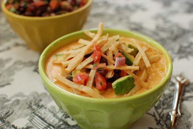 Chicken Tortilla Soup & Black Bean Salsa | recipes | Pinterest