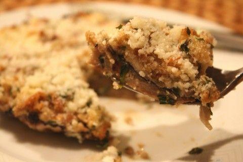 Boursin Mushrooms | recipes: appetizing appetizers | Pinterest