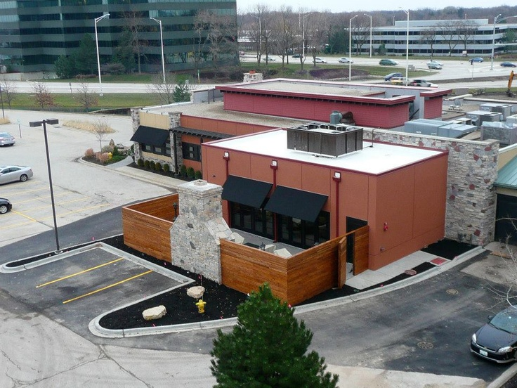 Pin by wilkus architects on restaurants by us pinterest for Redstone grill