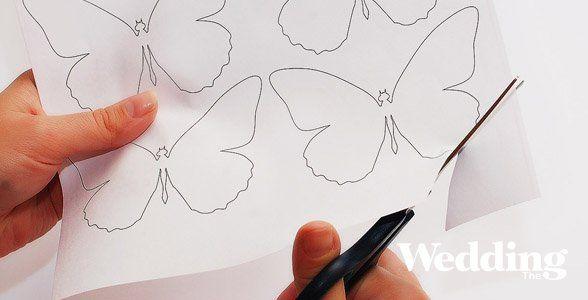 Как своими руками сделать бабочку нарисовать 27