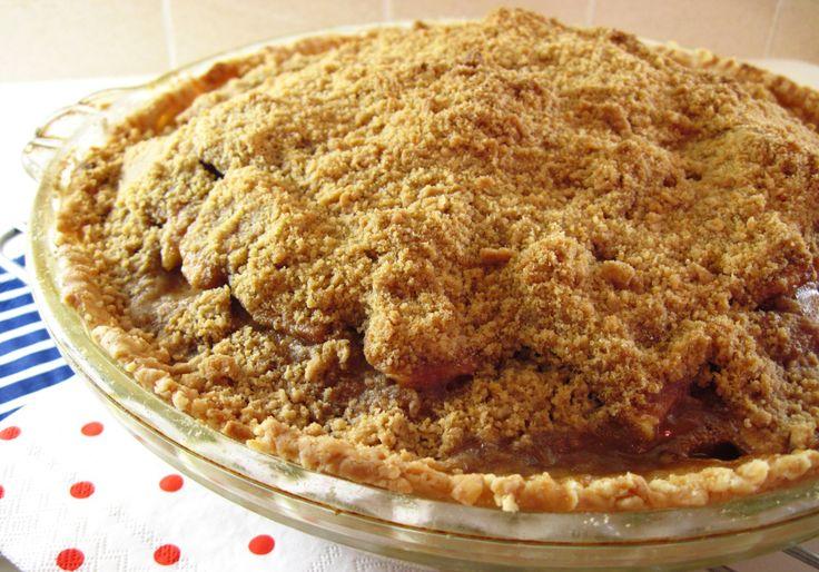 Cinnamon Crumble Apple Pie | PIES | Pinterest