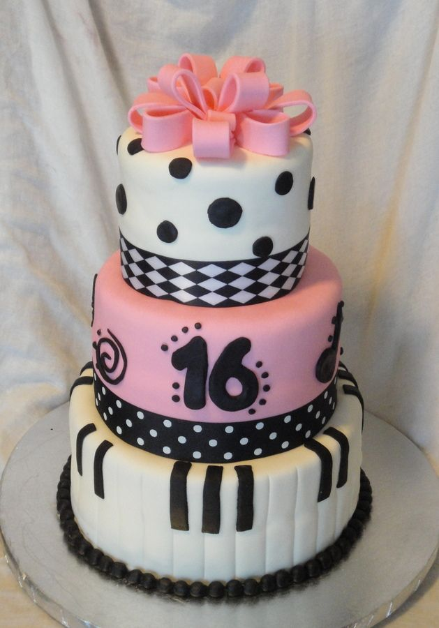 Pin Sweet 16 Musical Theater Cake Country Girl Cakes On Pinterest