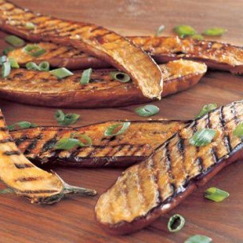 Japanese Eggplant Recipes | Miso-Glazed Grilled Asian Eggplant Recipe ...