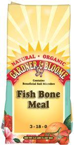 Pin by lori ambrose on gardening pinterest for Fish bone meal