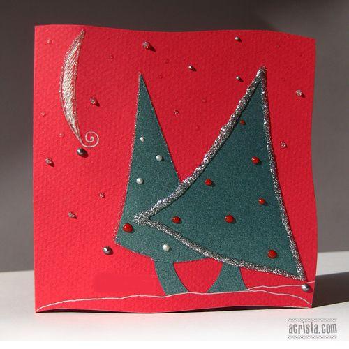 DIY Christmas Card Idea | Origami & Paper Crafts | Pinterest: pinterest.com/pin/274860383482316171