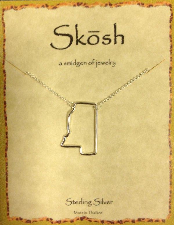 Skosh Mississippi Necklace   gifts   Pinterest