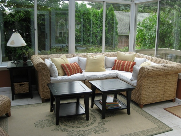 Furniture for sunroom  Home Furnishings  Pinterest
