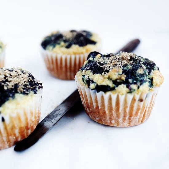 Gluten free blueberry corn muffins and more