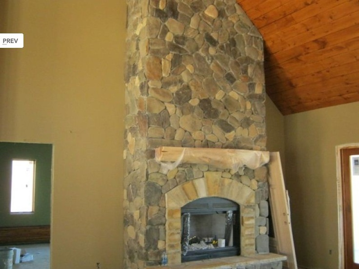 Pin by natural element homes on fireplaces pinterest Fireplace half stone