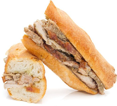 Porchetta Sandwich from Eataly | | EatAly | Pinterest