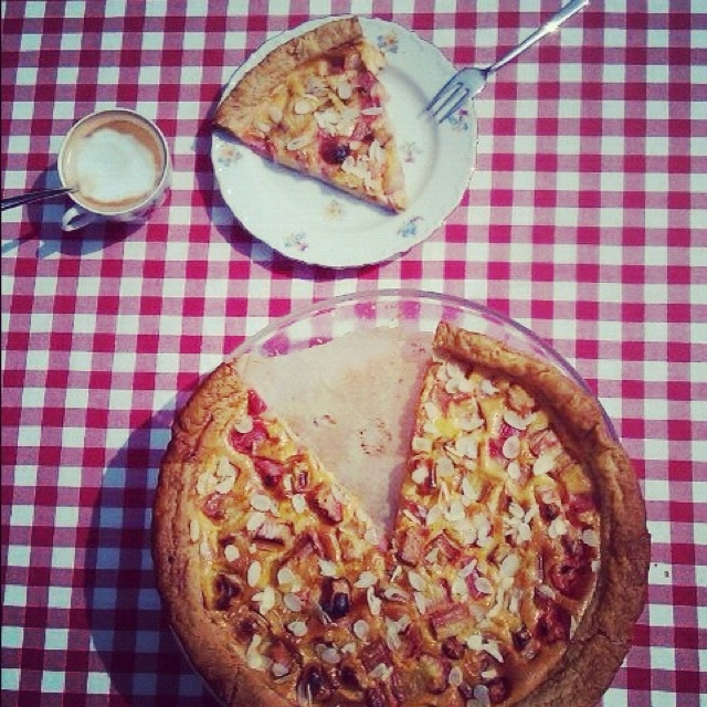 Rhubarb cake | Desserts, and Baking | Pinterest