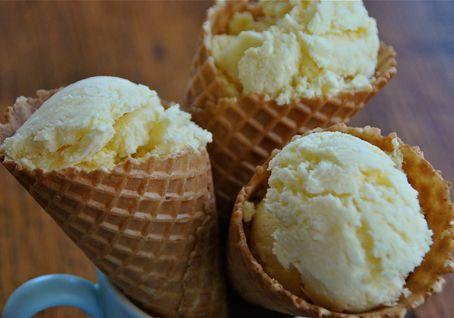 Mango and Coconut Ice-Cream   Cooking Ice Cream   Pinterest