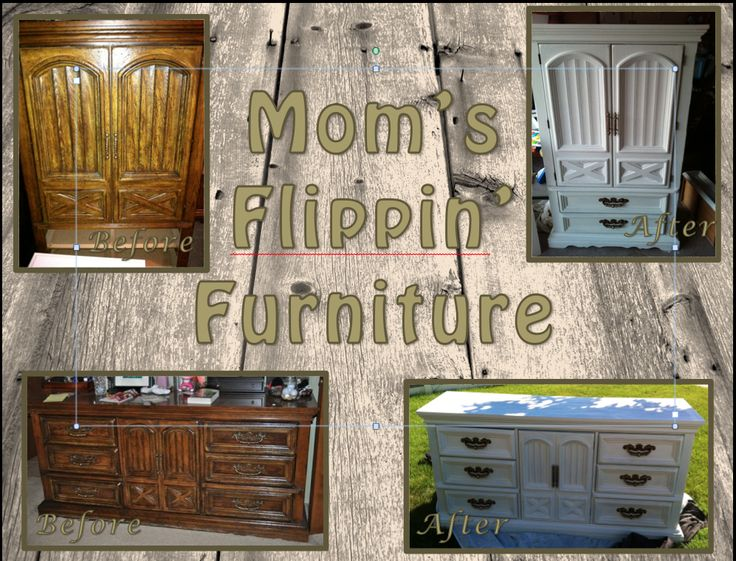 Moms Flippin' Furniture  How to's, examples, before and after pics Dressers, armoires, and more to come