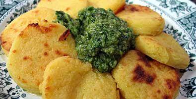 Semolina Gnocchi with walnut sauce | Culinary | Pinterest