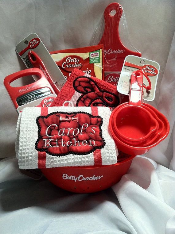 Betty crocker gift basket gifts baskets for for Kitchen gift ideas under 50