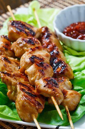 Dakkochi (Korean Skewered Chicken) @fiance9