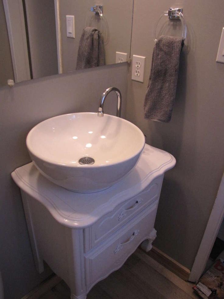 diy vanity and sink yes please diy pinterest