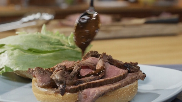 nice VIDEO: Bourbon-Marinated Flank Steak Recipe