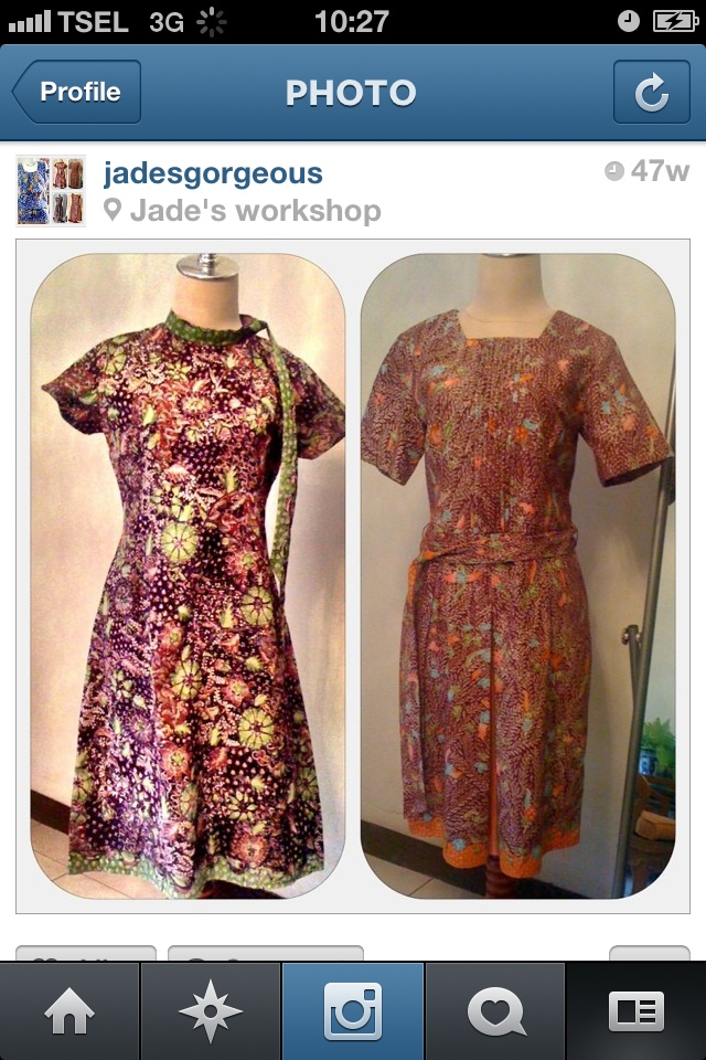 Batik Lasem & Cirebonan tulis dress | Indonesia - Batik | Pinterest