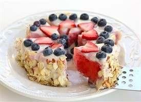 HEALTHY WATERMELON TART !!!! YUM !! | Savory Recipes | Pinterest