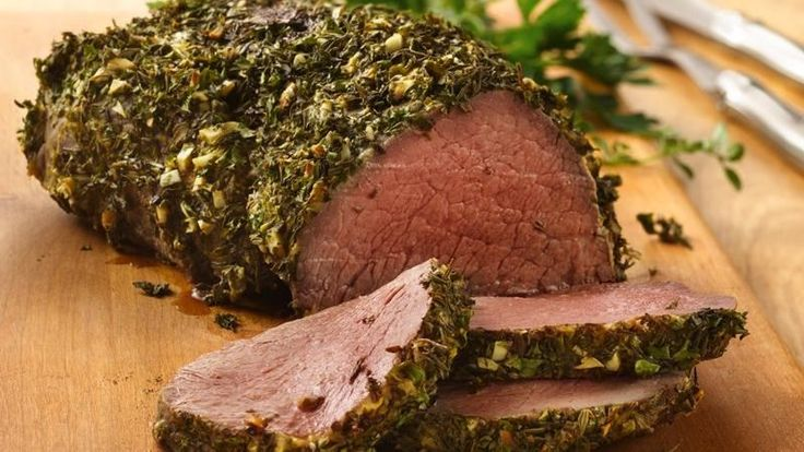 ... put this spectacular roast (with super-easy herb crust) on the table
