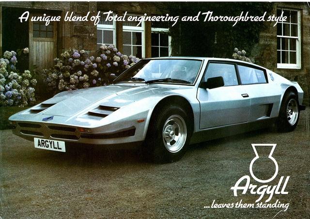 Argyll Turbo GT | Cars | Pinterest