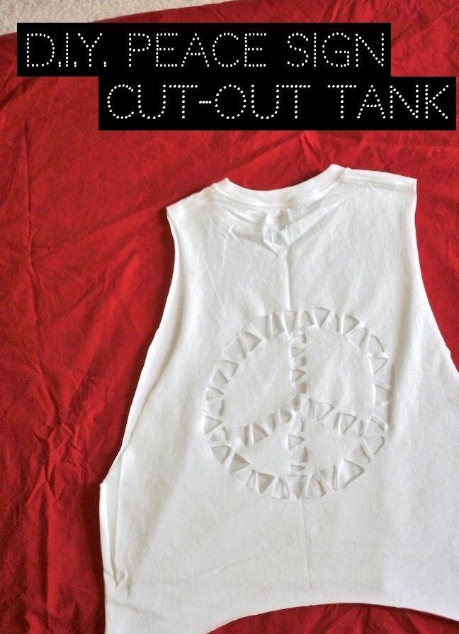 Peace T Shirt Cut Design T Shirt Pinterest