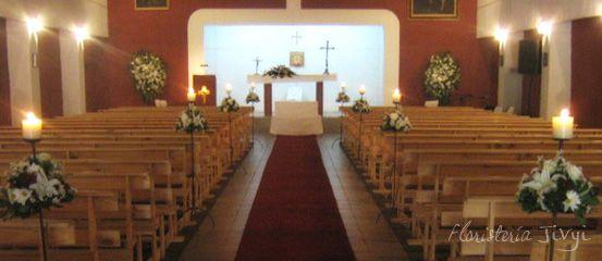 Decoracion Altar Iglesia ~ Decoraci?n altar Iglesia Fundo El Molino  Travel themed wedding  Pi